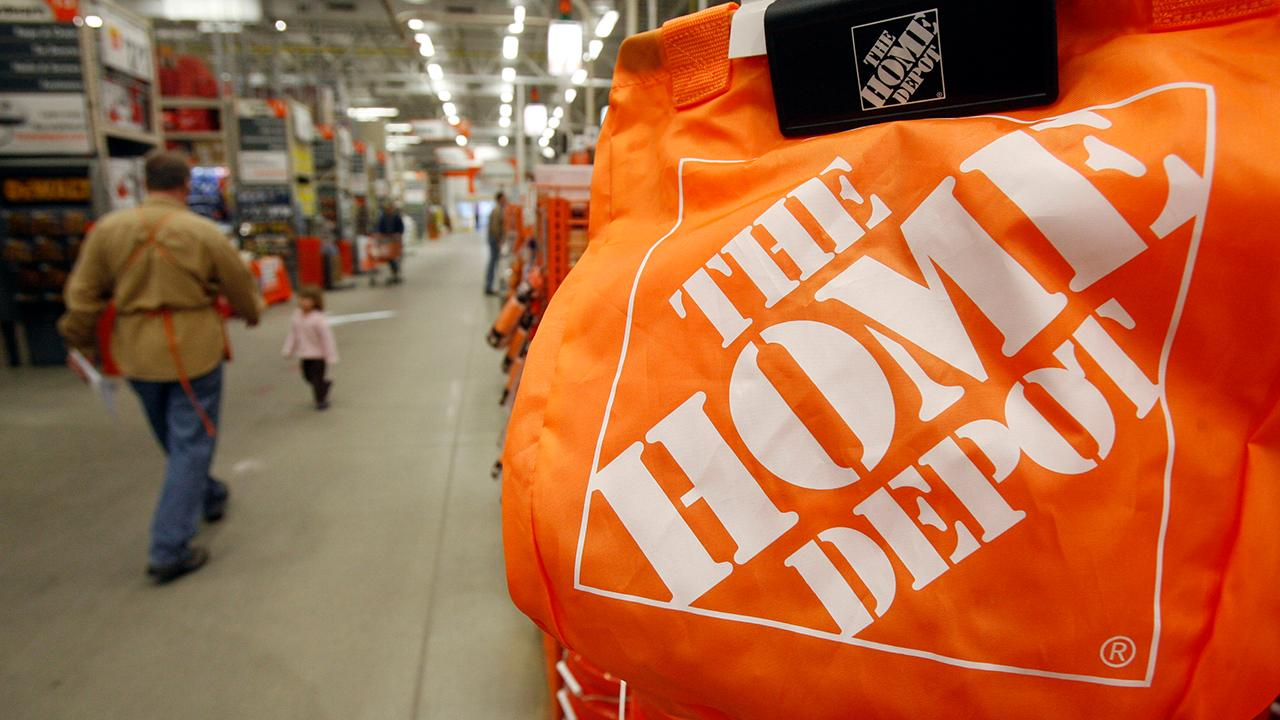 Fox Business Briefs: Home Depot is limiting the number of shoppers allowed in stores and offering bonuses to its employees who are staying on the job; alcohol sales has jumped as Americans observe stay-at-home orders according to Nielsen Data.