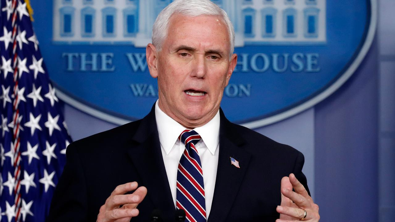 Vice President Mike Pence says no American should be worried about their coronavirus treatment costs during the outbreak.