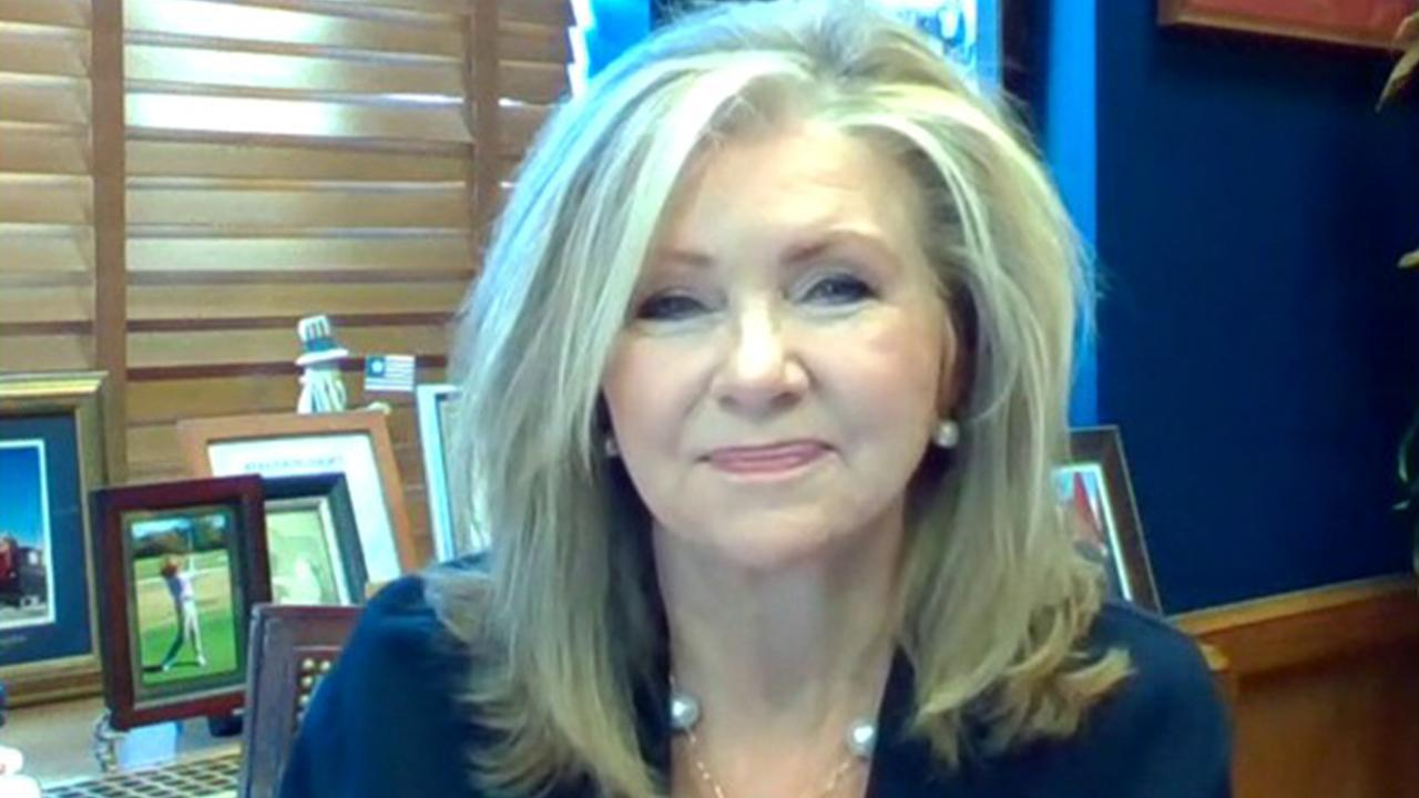 Sen. Marsha Blackburn, R-Tenn., argues the U.S. should consider not paying back China for its debts as a way to hold the country accountable for its coronavirus actions.