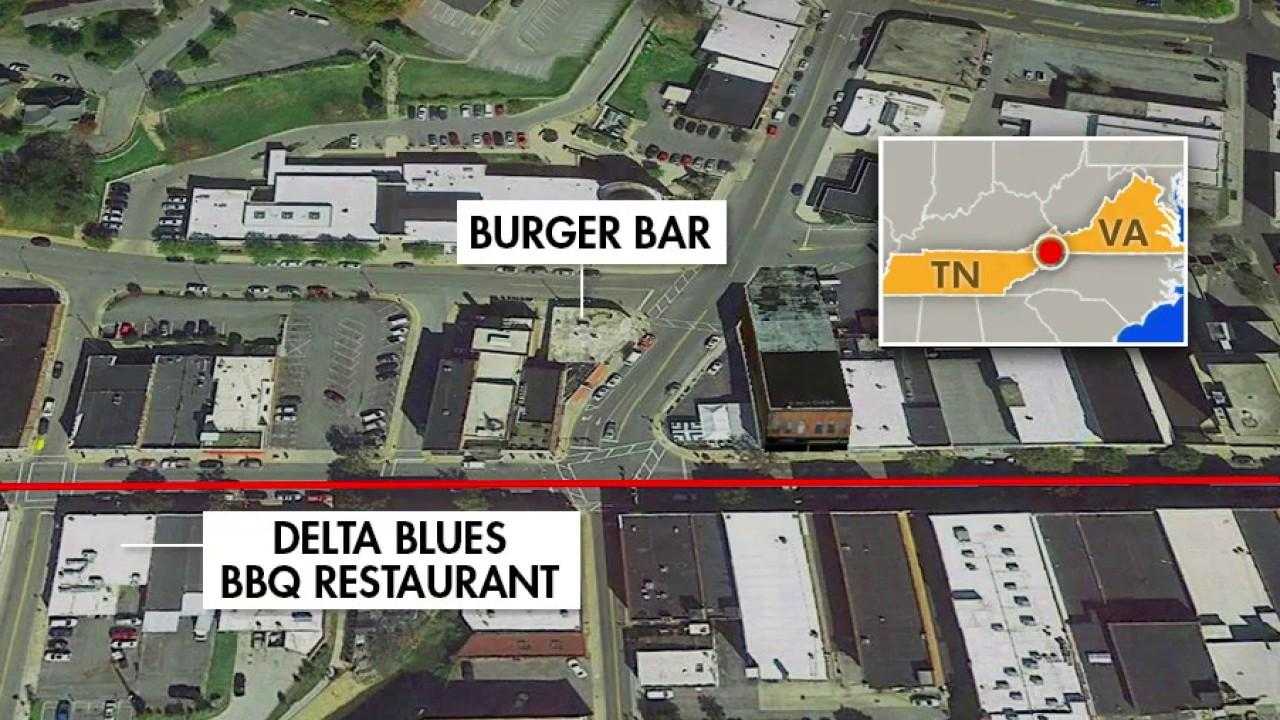 Tennessee's Delta Blue BBQ Restaurant owner Travis Penn and Virginia's Burger Bar owner Joe Deel discuss plans for reopening amid coronavirus while both restaurants straddle state lines and follow different regulations.