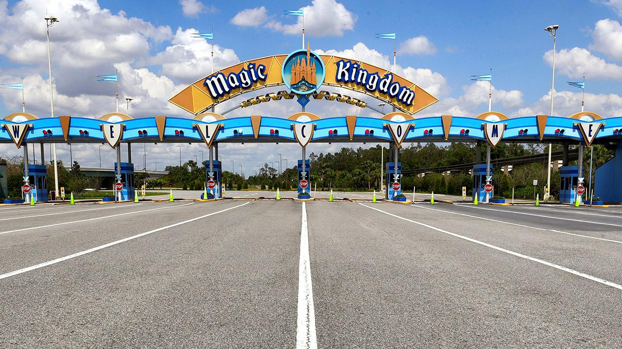 FOX Business' Kristina Partsinevelos says Disney plans to reopen its Magic Kingdom, Animal Kingdom, EPCOT and Hollywood Studios theme parks on July 11 and July 15 with various preventative measures put in place.