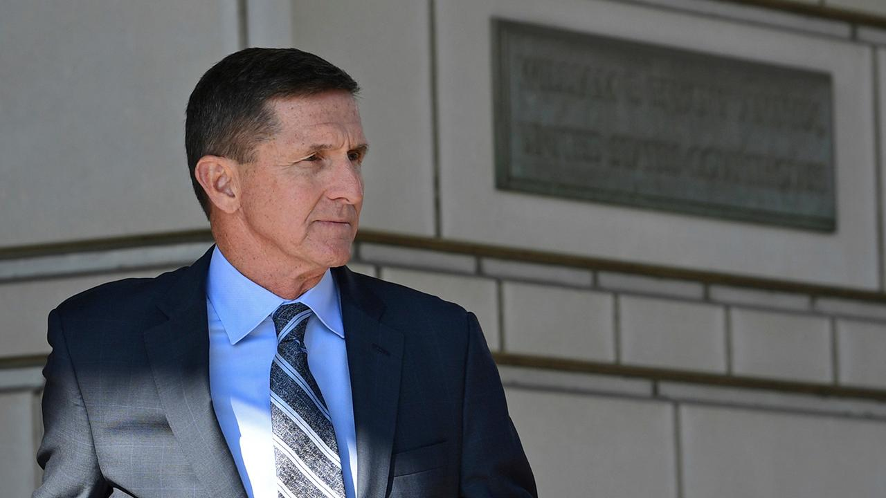 Sidney Powell, who is former National Security Adviser Michael Flynn's attorney, discusses documents that reveal former FBI agent Peter Strzok stopped the FBI from ending the Flynn probe even though there was a lack of 'derogatory' evidence.
