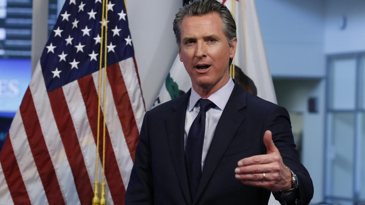 California Gov. Gavin Newsom (D) says he has great reverence for Tesla's technology and leadership.