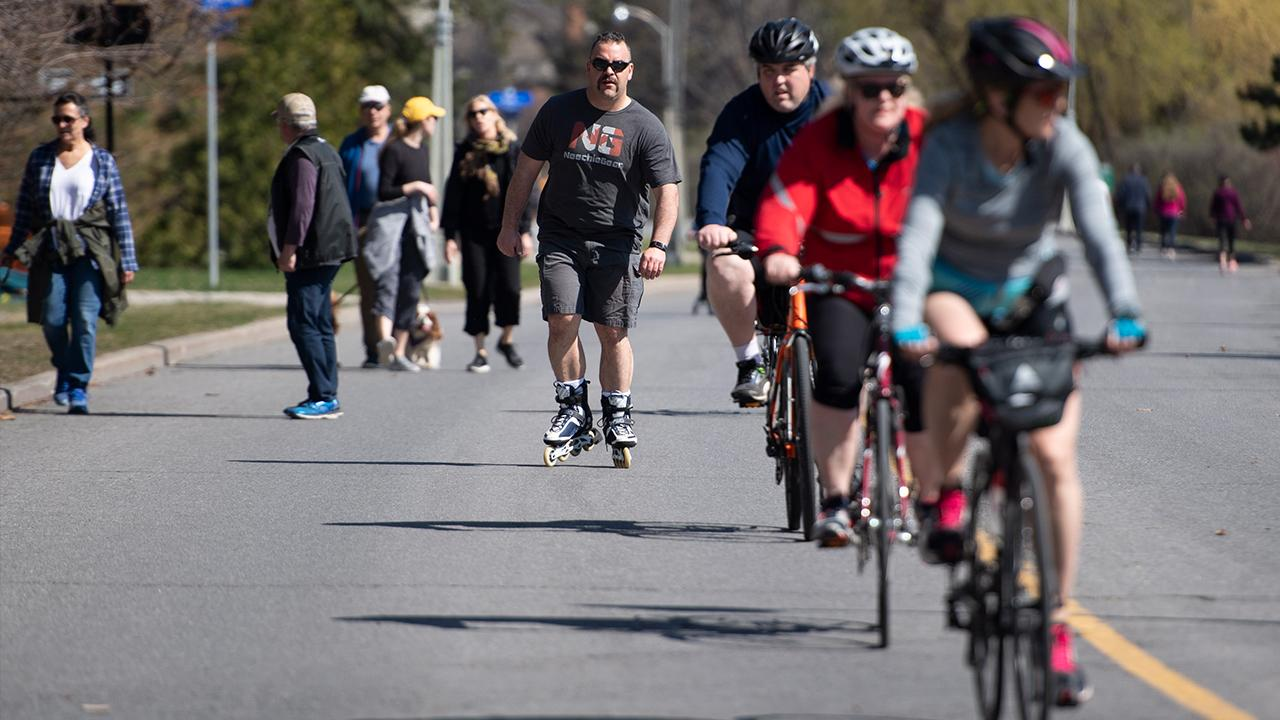 Jonny Rock Bikes owner Jonathan Minks argues coronavirus has led to a surge in biking because it's one of the few activities Americans can still do under lockdown.
