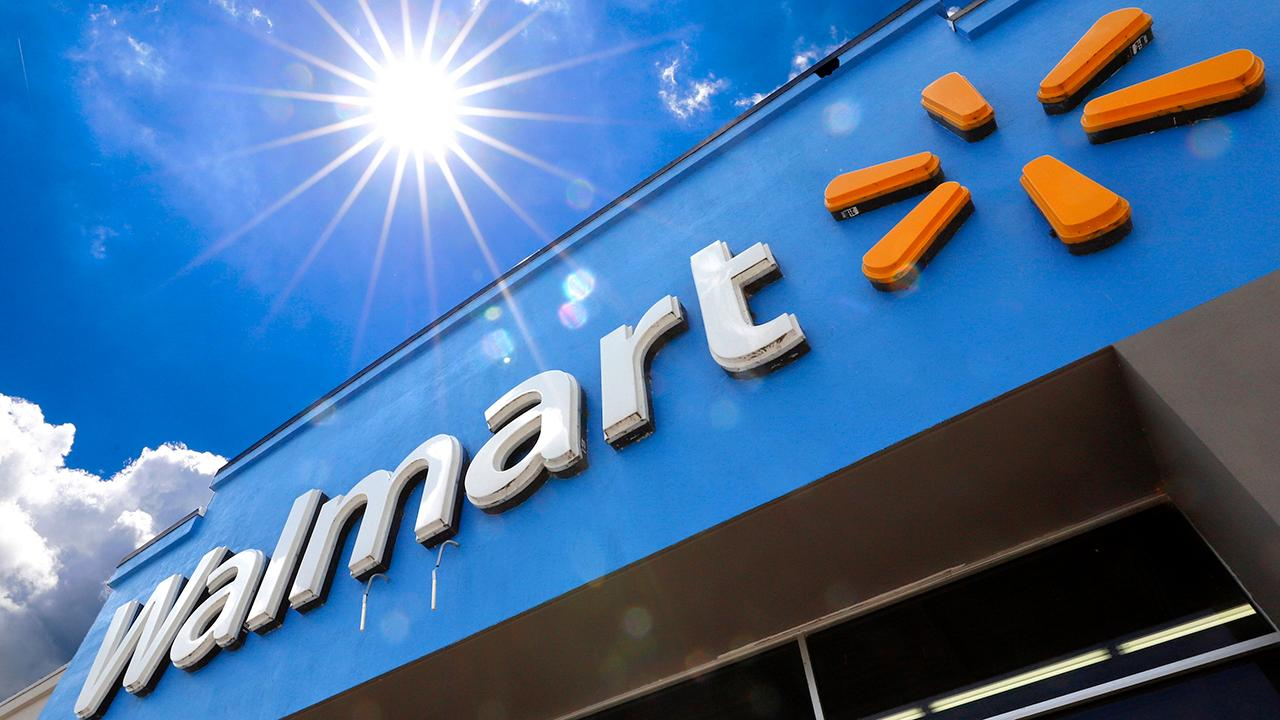 Fox Business Briefs: Walmart reports higher-than-expected earnings in first quarter boosted by a 74 percent increase in online sales; Pier 1 seeks court approval to begin an orderly wind-down of the business as soon as stores can reopen.