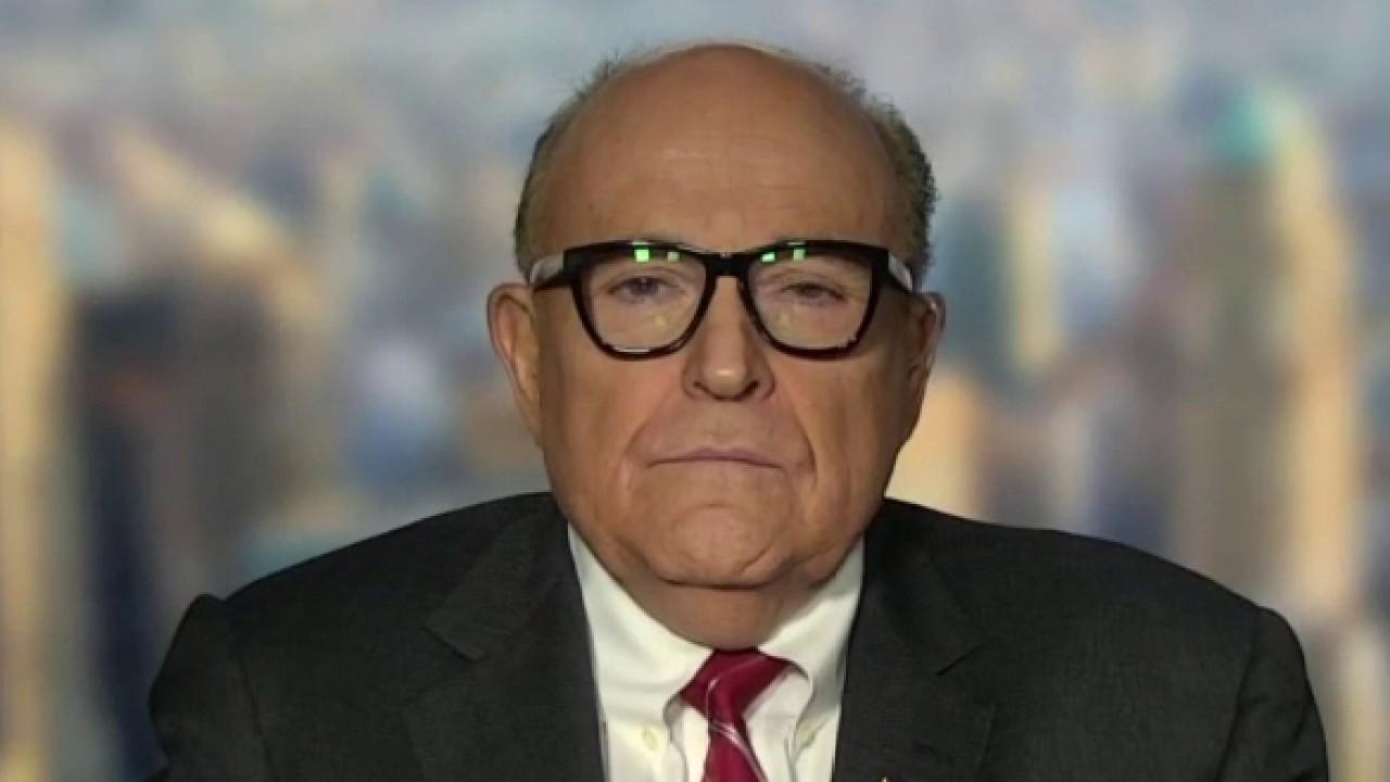 Former New York City Mayor Rudy Giuliani discusses the trade-offs of reopening America amid coronavirus.