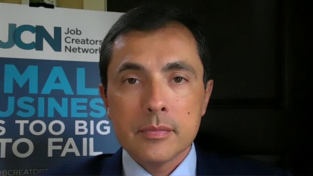 Job Creators Network CEO and President Alfredo Ortiz argues the coronavirus reopening debate isn't about 'economy vs. life,' but instead 'life vs. life.'