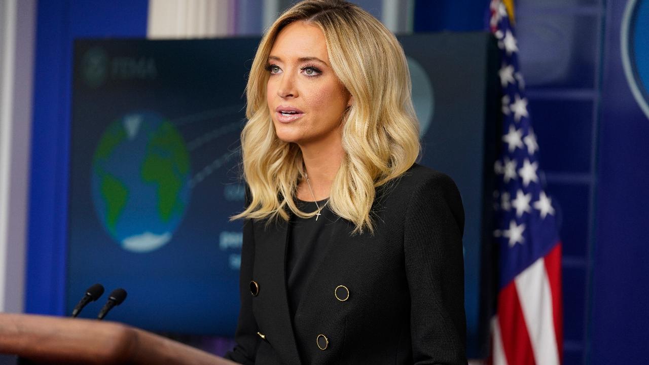 White House press secretary Kayleigh McEnany argues the World Health Organization echoed China's reportedly false information on coronavirus.