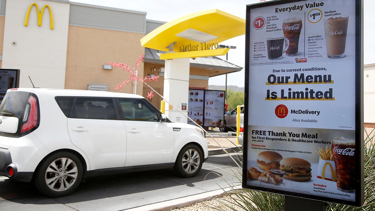 Former McDonald's USA CEO Ed Rensi on how the coronavirus is impacting the fast-food industry.