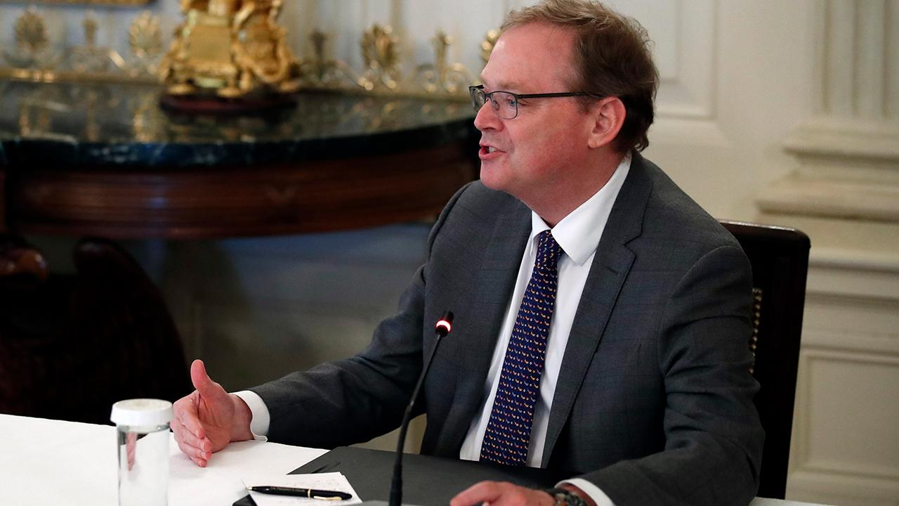 Senior adviser to President Trump Kevin Hassett argues the coronavirus is the biggest shock our economy has ever seen but its impact can be reversed. He also said the administration is ready for phase 4 if necessary.
