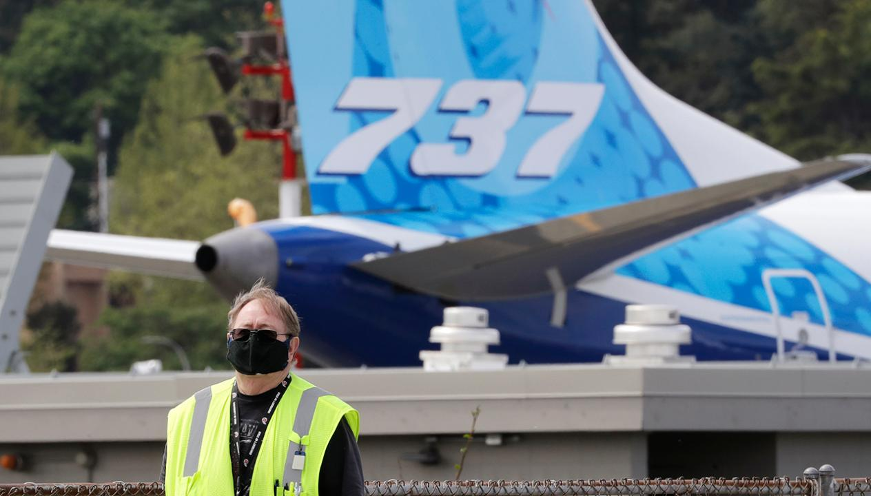 Fox Business Briefs: Boeing says they won't seek coronavirus-related government aid after raising $25 billion in a bond offering; more airlines creating new safety rules to help prevent the spread of the coronavirus.
