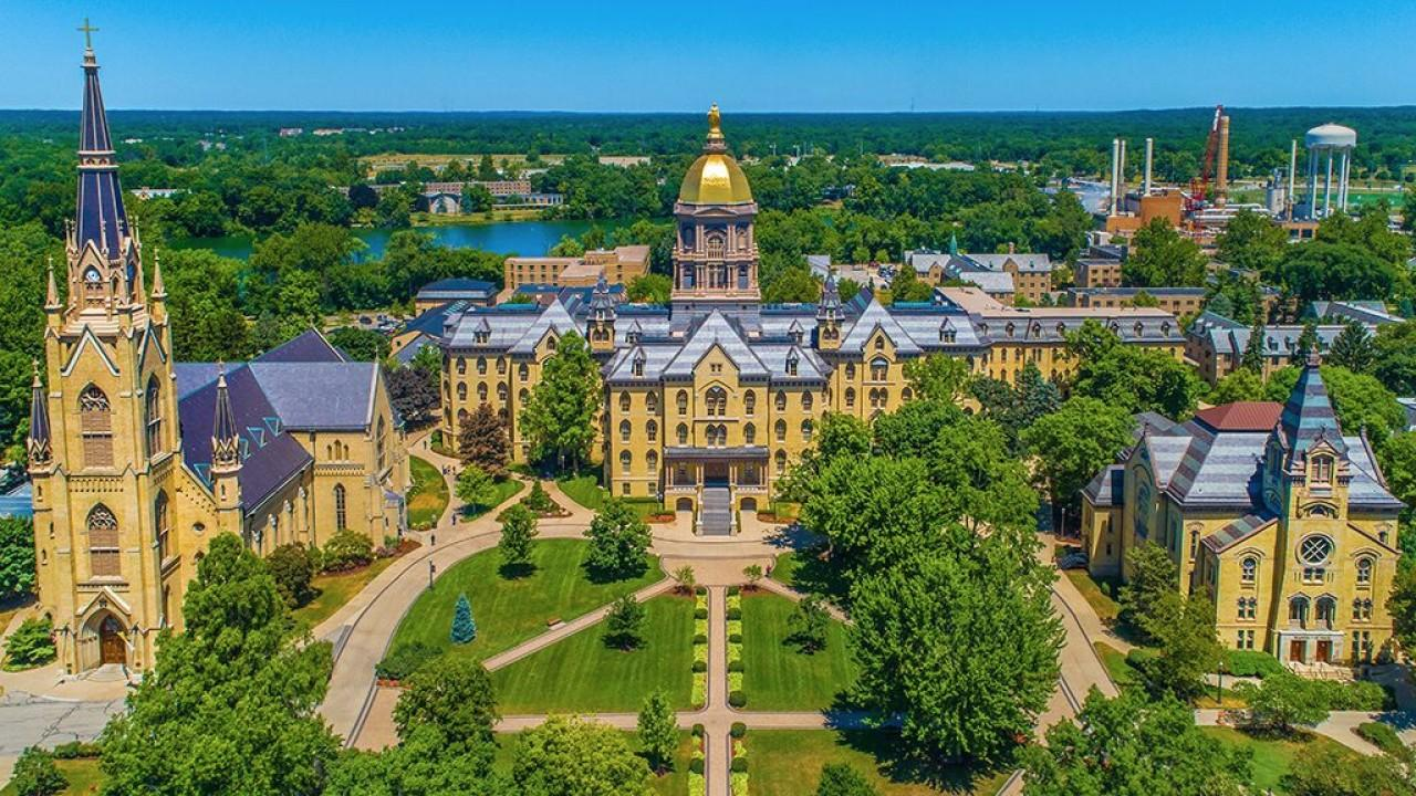 Notre Dame University will be reopening this fall despite coronavirus. FOX Business' Grady Trimble with more.