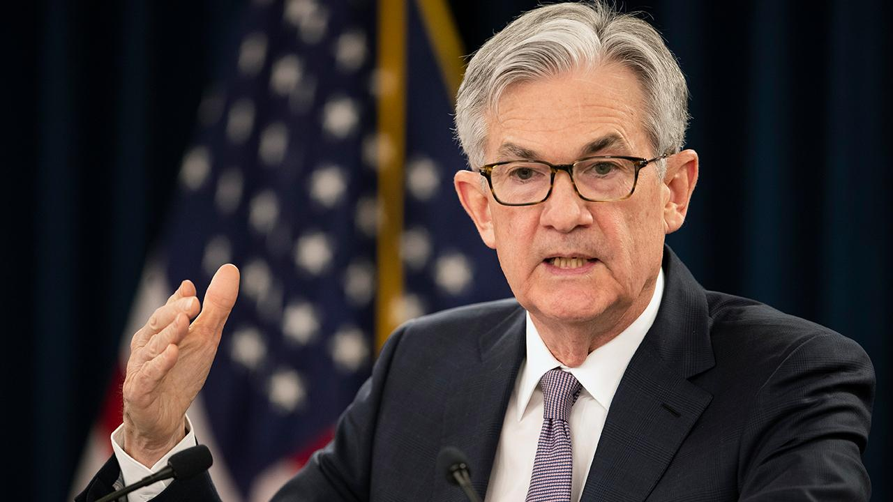 Federal Reserve Chairman Jerome Powell said the coronavirus is the largest economic shock in history in remarks prepared for an online discussion with the Peterson Institute for International Economics. FOX Business' Edward Lawrence with more.