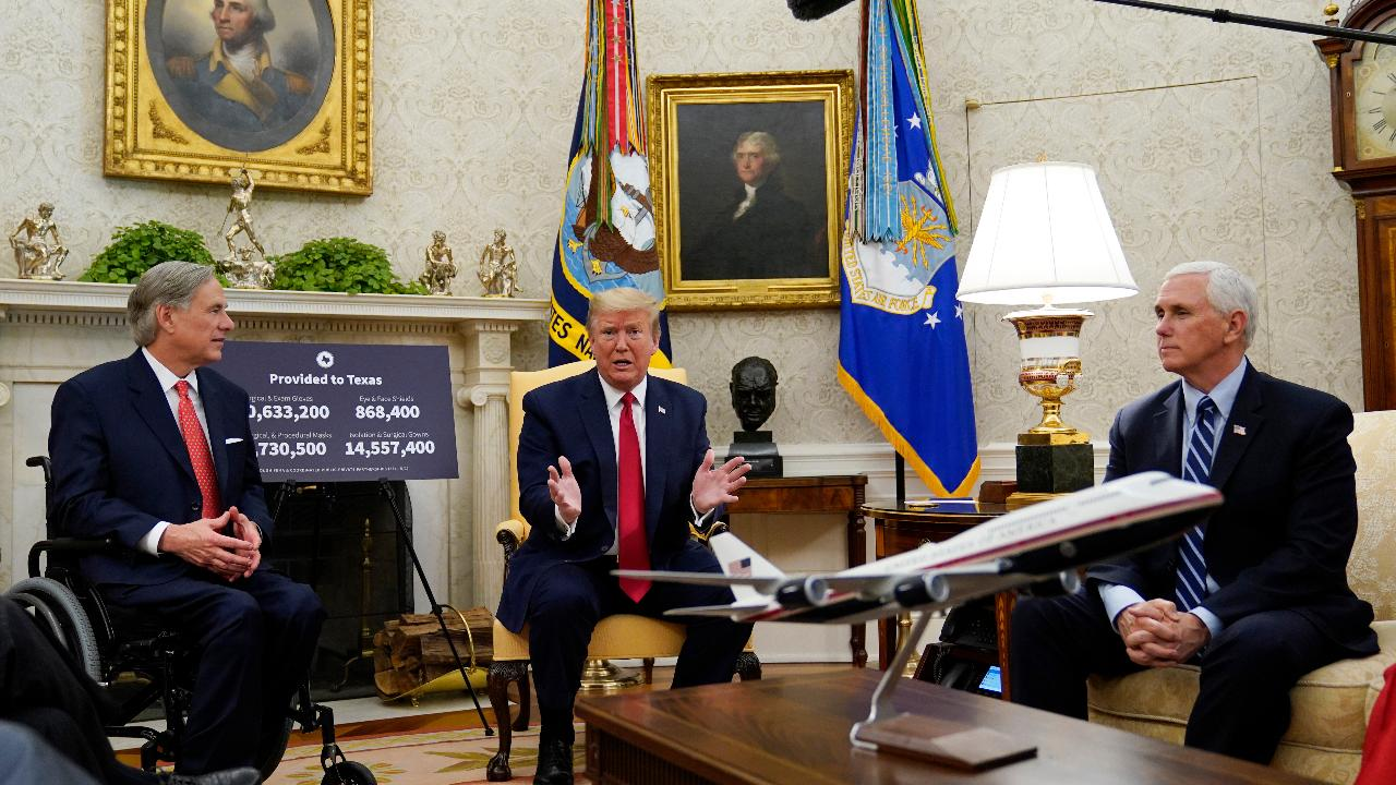 President Trump argues more businesses should operate in the U.S. instead of relying on other countries for goods and services.