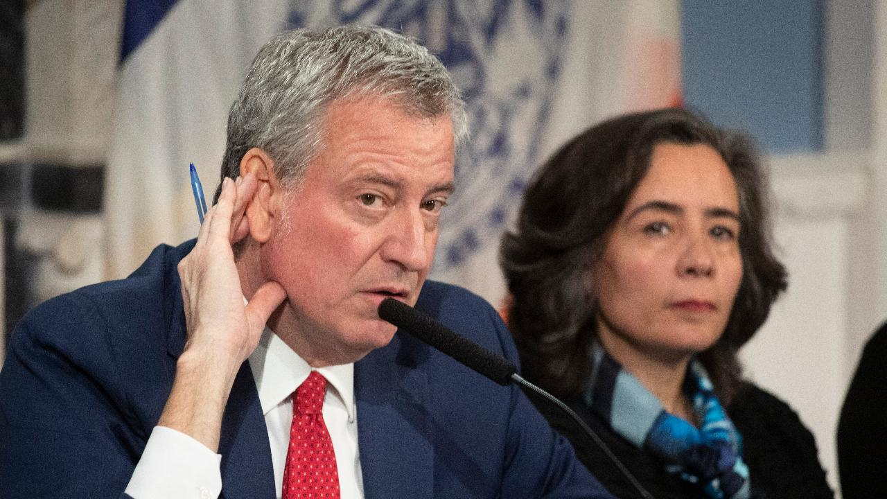 New York City Mayor Bill de Blasio discusses coronavirus' initial impact on New York.