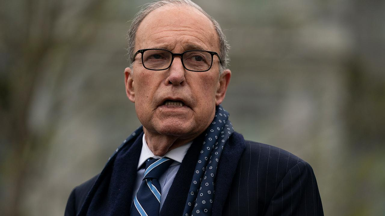 National Economic Council Director Larry Kudlow says the U.S. can't spend its way out of the coronavirus downturn but would benefit from tax adjustments.