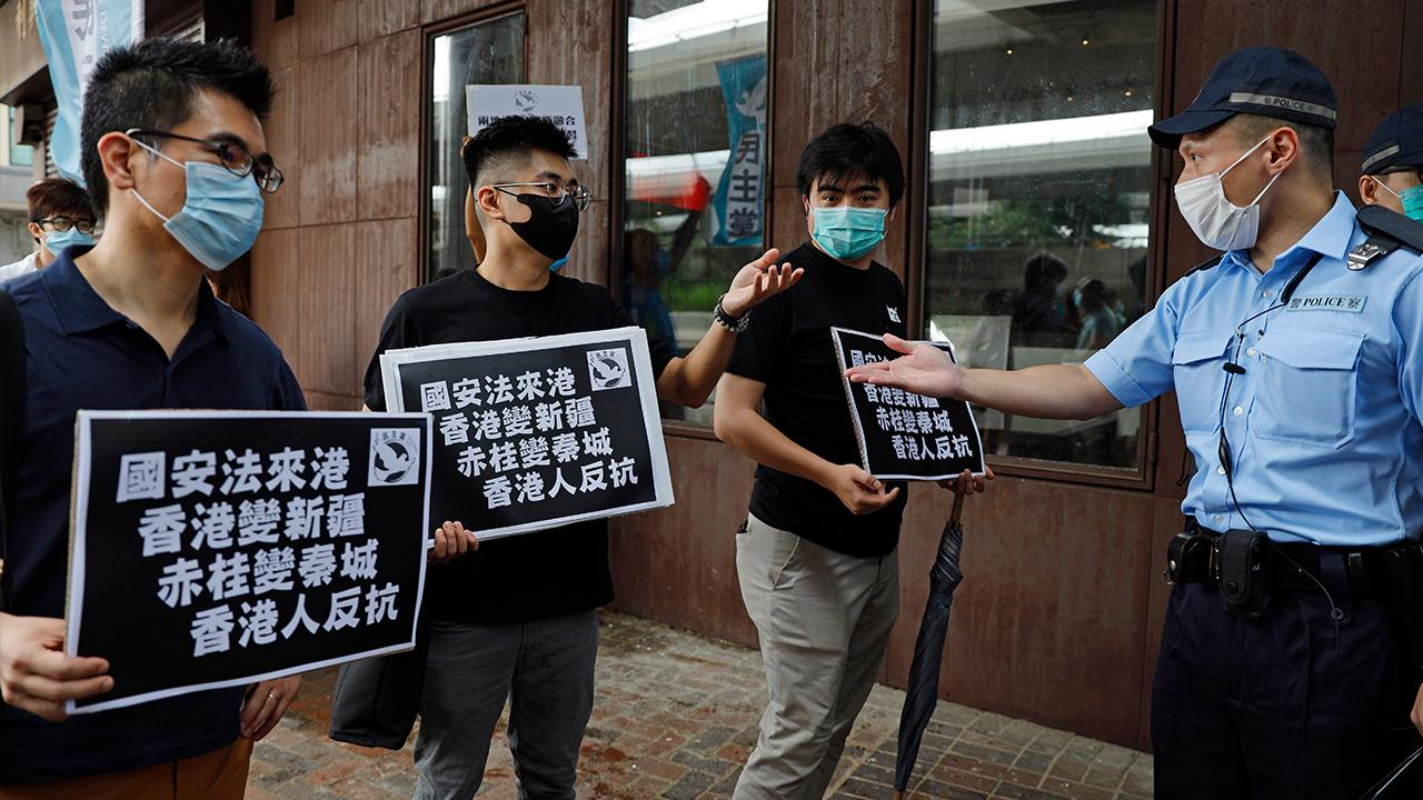 China is looking to pass a bill that would change security rules and criminalize activities 'subversive' to the government and allow Chinese security agencies to work in Hong Kong. FOX Business' Edward Lawrence with more.
