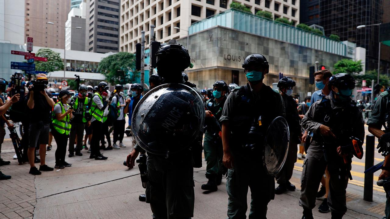 Hong Kong protests are intensifying over new Chinese national security laws. FOX Business' Maria Bartiromo and Dagen McDowell with more.