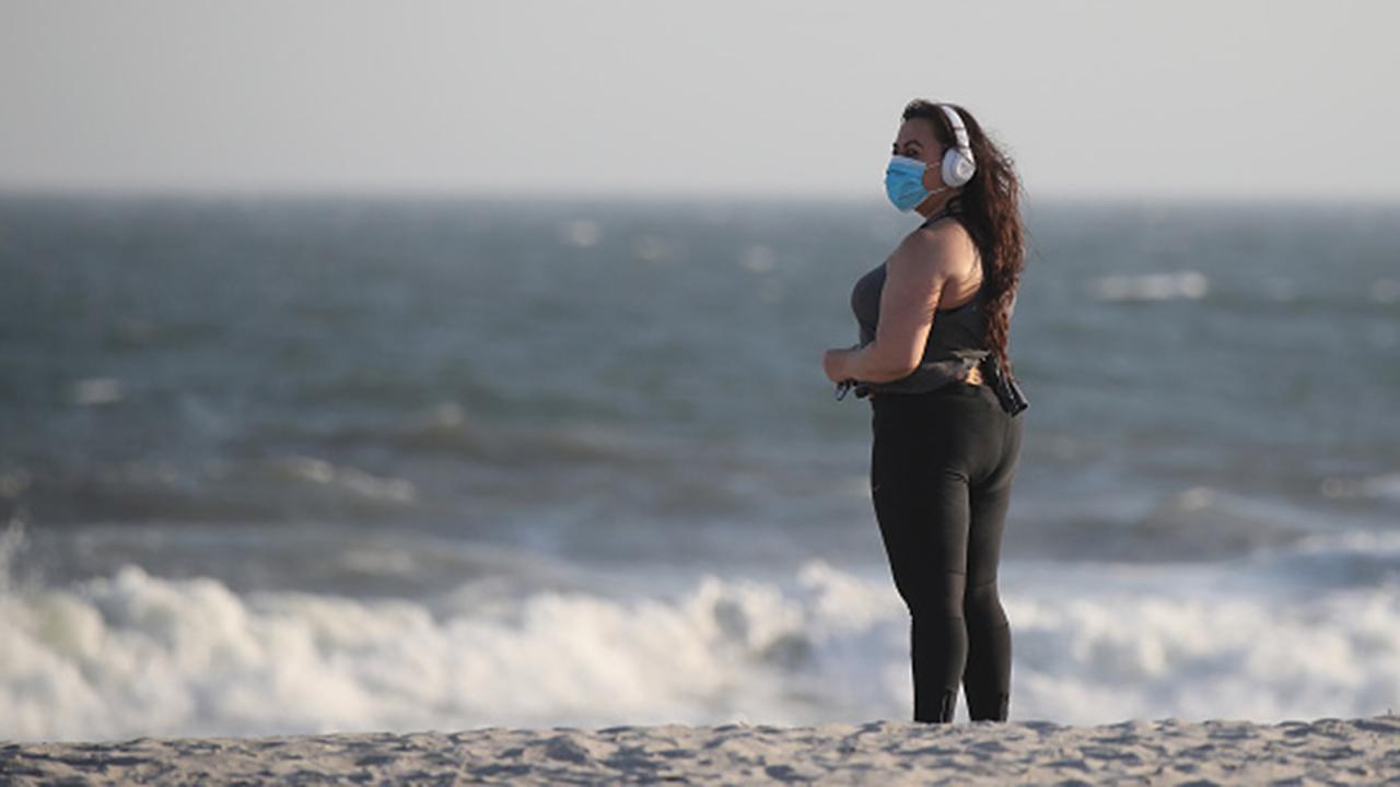 Nassau County, New York executive Laura Curran on working with New York City Mayor Bill de Blasio on slowly reopening New York beaches.
