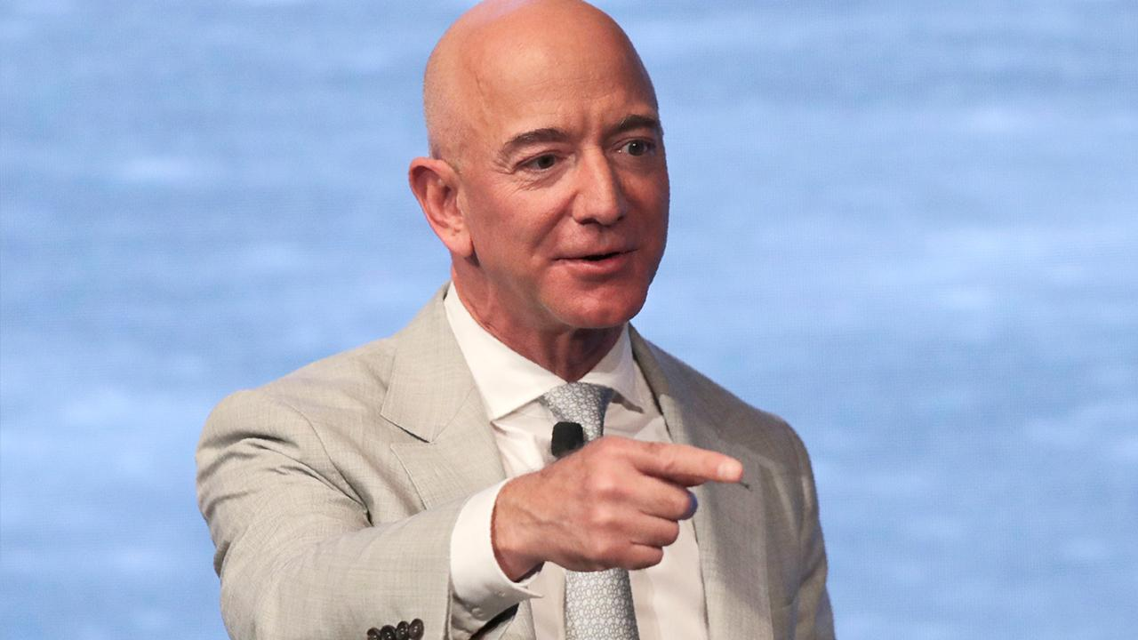 Congress wants Amazon CEO Jeff Bezos to testify regarding the company using third-party data to create 'copycat products.' FOX Business' Hillary Vaughn with more.
