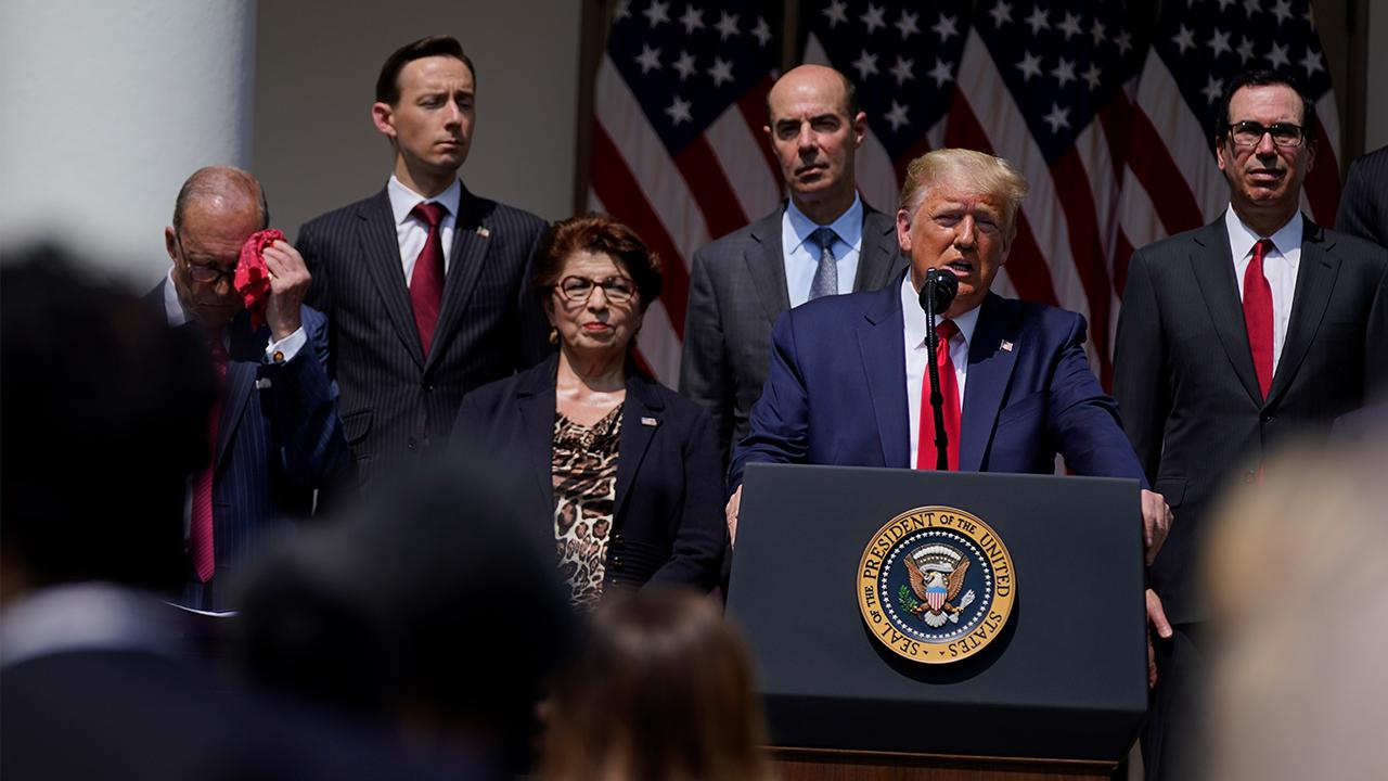 President Trump says the administration will be going for a payroll tax cut, which will provide a tremendous incentive for businesses, in addition to extra stimulus for restaurants and parts of the entertainment industry.