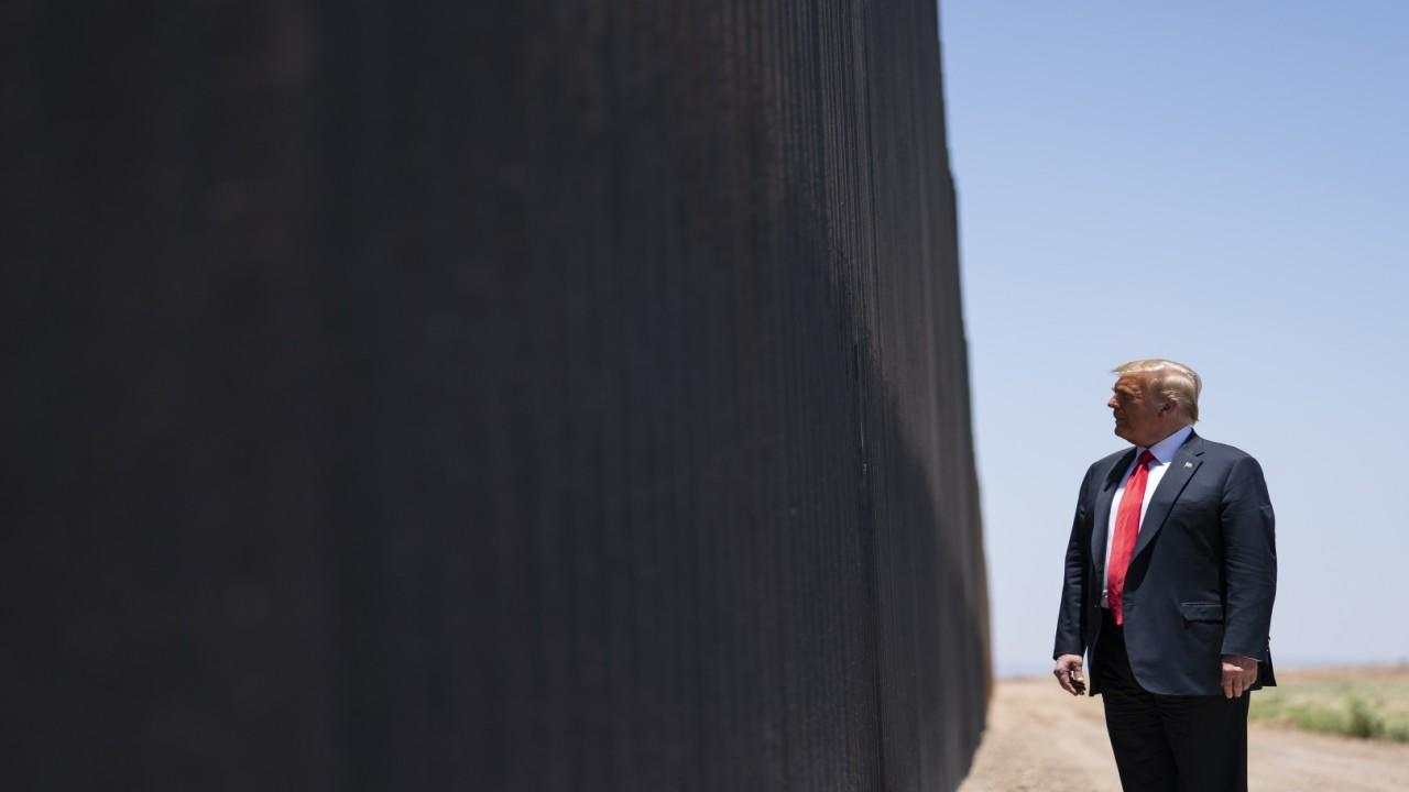 Former Acting ICE Director Tom Homan discusses the development of the southern border wall and Trump temporarily suspending workers visas.