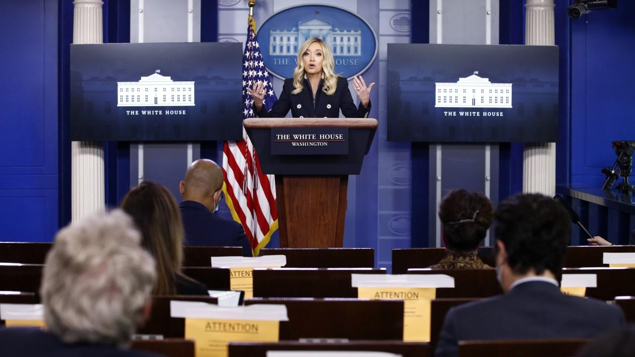 White House press secretary Kayleigh McEnany says President Trump has had two briefings Monday with Secretary of the Army Mark Esper and U.S. Attorney General William Barr about additional federal assets that could be deployed across the nation.