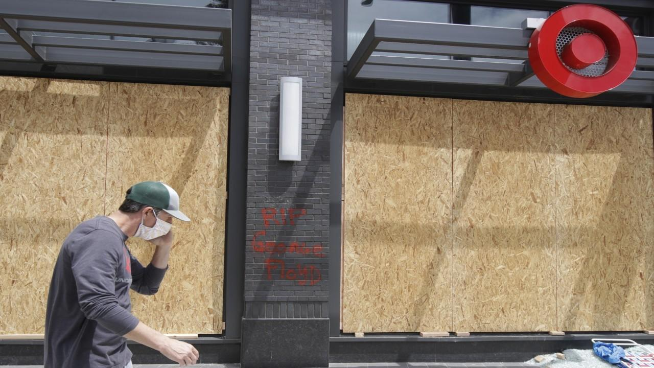 Retailers face damage from riots while struggling to reopen amid coronavirus. FOX Business' Lauren Simonetti with more.