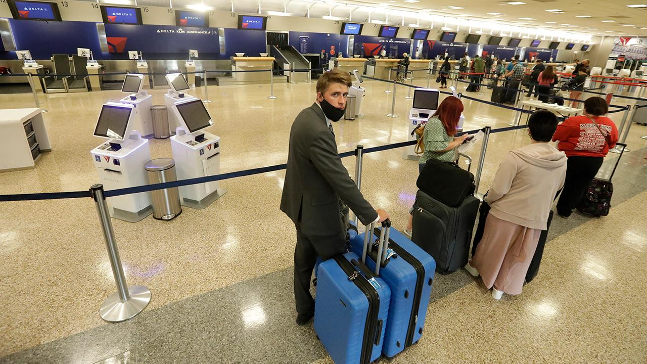 FOX Business' Grady Trimble reports from Chicago O'Hare International Airport where traveler numbers are increasing as passengers get more comfortable with coronavirus safety measures.
