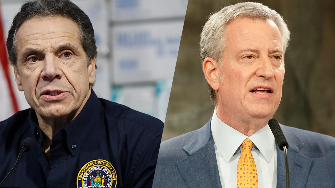 "National Real Estate developer Don Peebles discusses how New York Gov. Andrew Cuomo and New York City Mayor Bill de Blasio are in conflict, causing a sense of ""lawlessness"" and destroyed property."