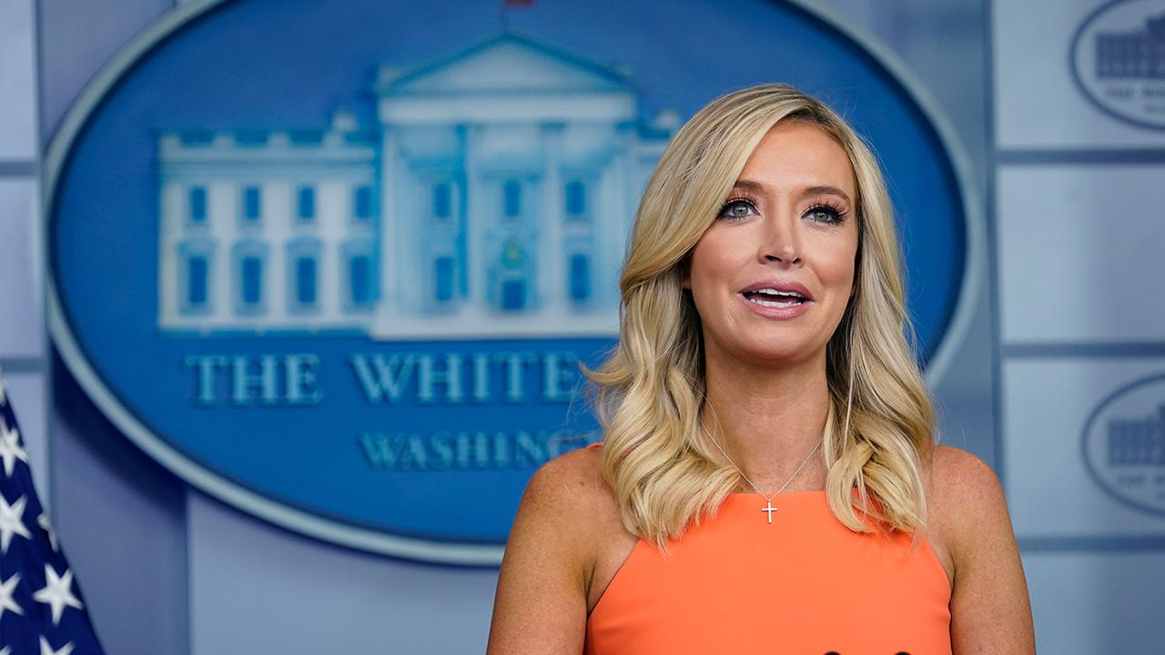 White House Press Secretary Kayleigh McEnany says Democrats should come to the table and negotiate an infrastructure and stimulus plan.