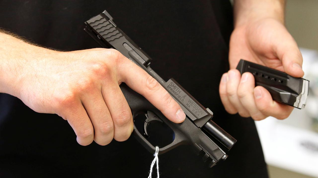 Gun sales are surging with 1.7 million firearms sold in May. FOX Business' Ashley Webster with more.