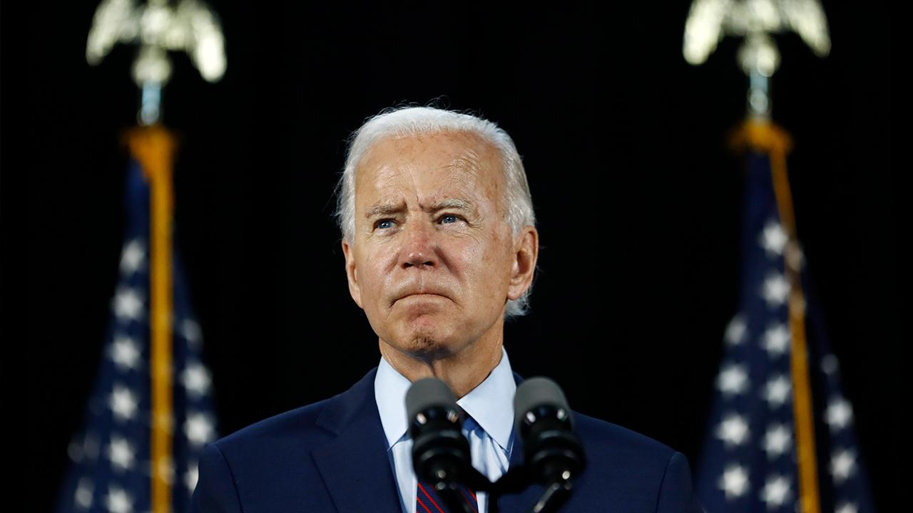 Sources tell FOX Business' Charlie Gasparino major brokerages are weighing speeding up market analysis of the upcoming presidential election as presumptive Democratic nominee Joe Biden's lead widens over President Trump.