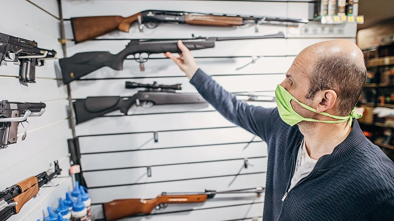 LAX Range and Ammo owner Daniel Kash says there is 'unprecedented demand like never before' for guns and ammo.