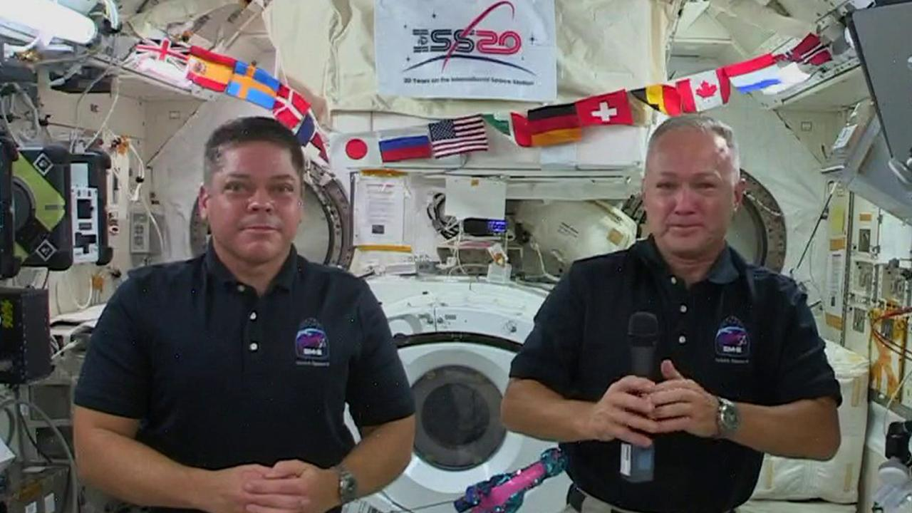 NASA Astronauts Doug Hurley and Bob Behnken join FOX Business from the International Space Station and discuss the SpaceX Dragon, helping maintain the ISS and spending Father's Day in space.