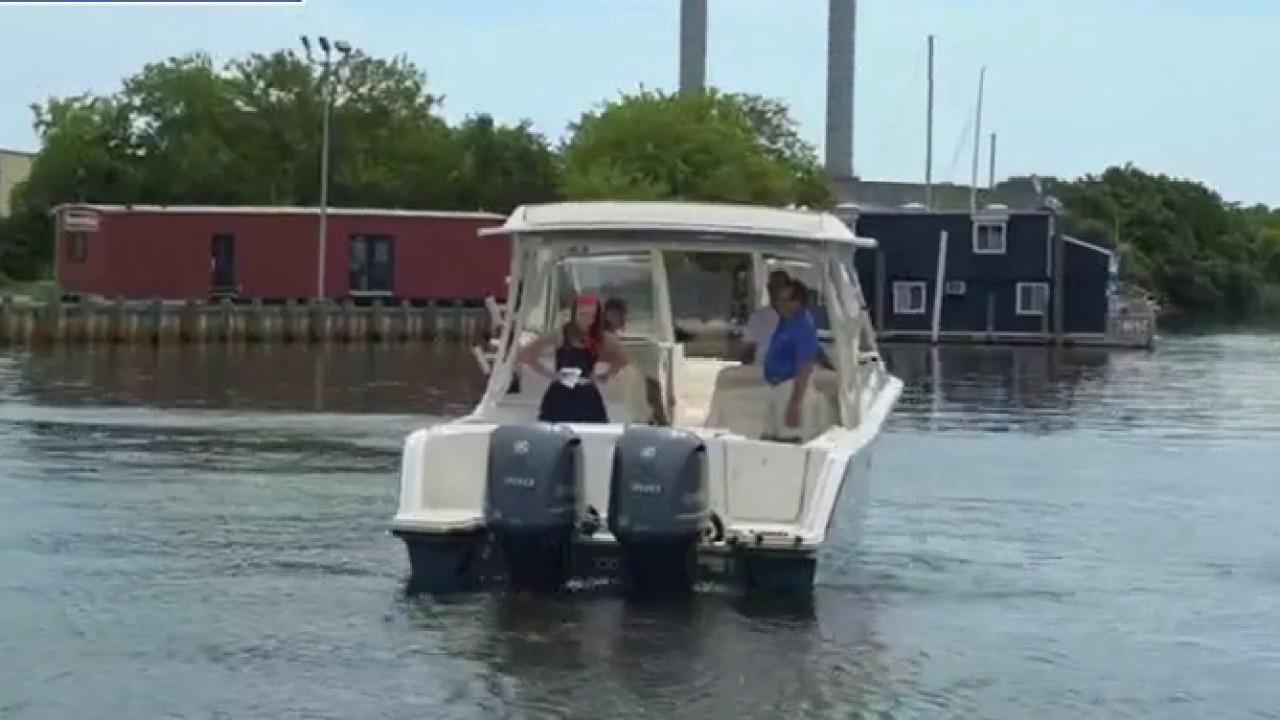 Demand for watercrafts rose by 75 percent in May due to coronavirus. FOX Business' Kristina Partsinevelos with more.