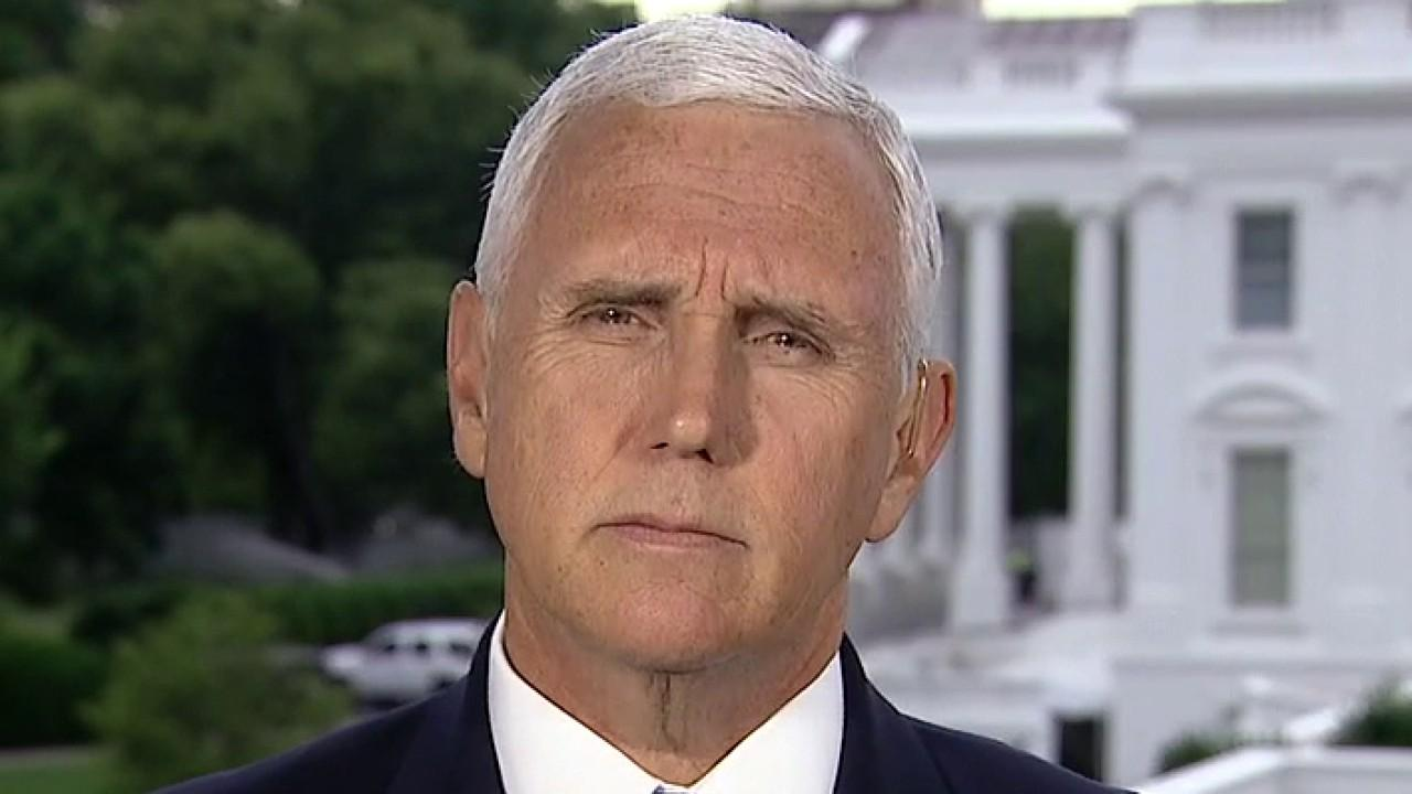 Vice President Mike Pence discusses President Trump's executive order on police reform.