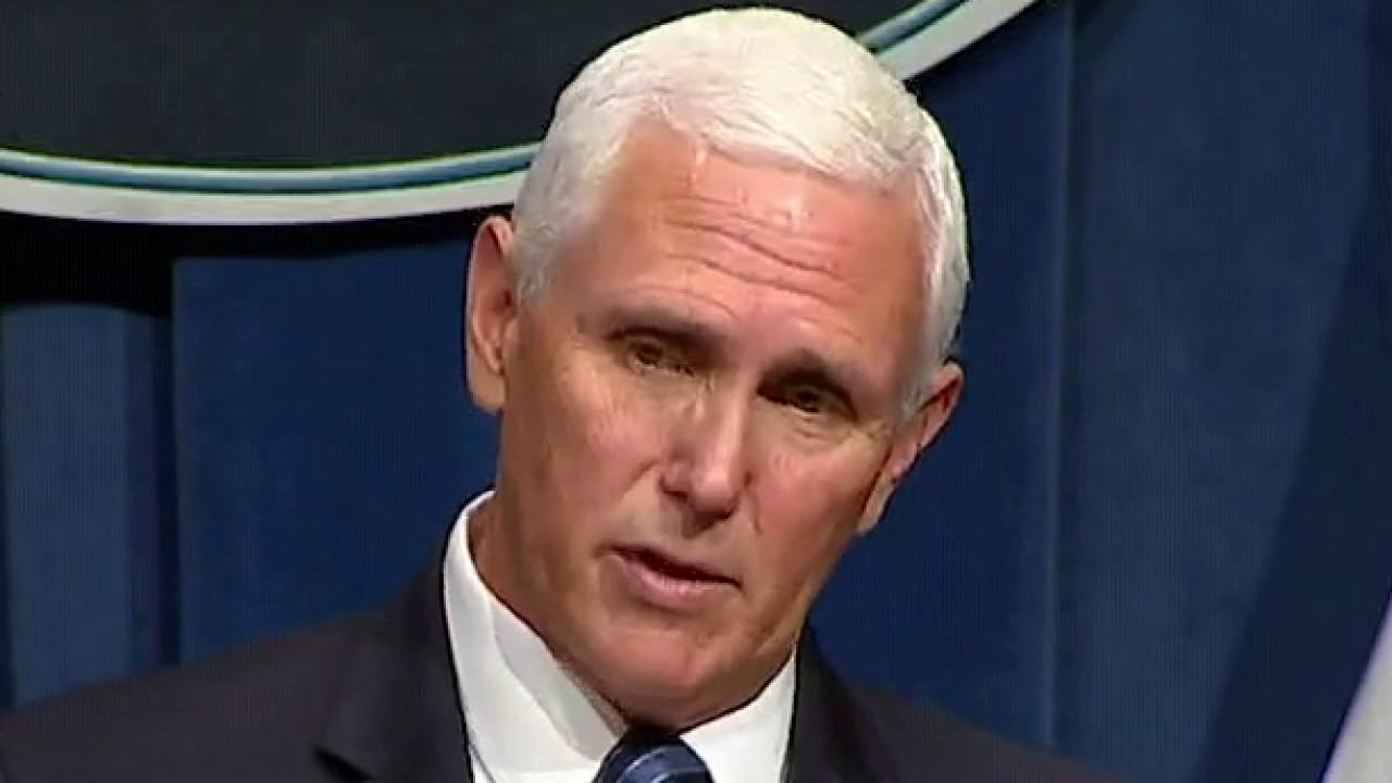 Vice President Pence addresses the push to continue reopening the economy amid coronavirus spikes.