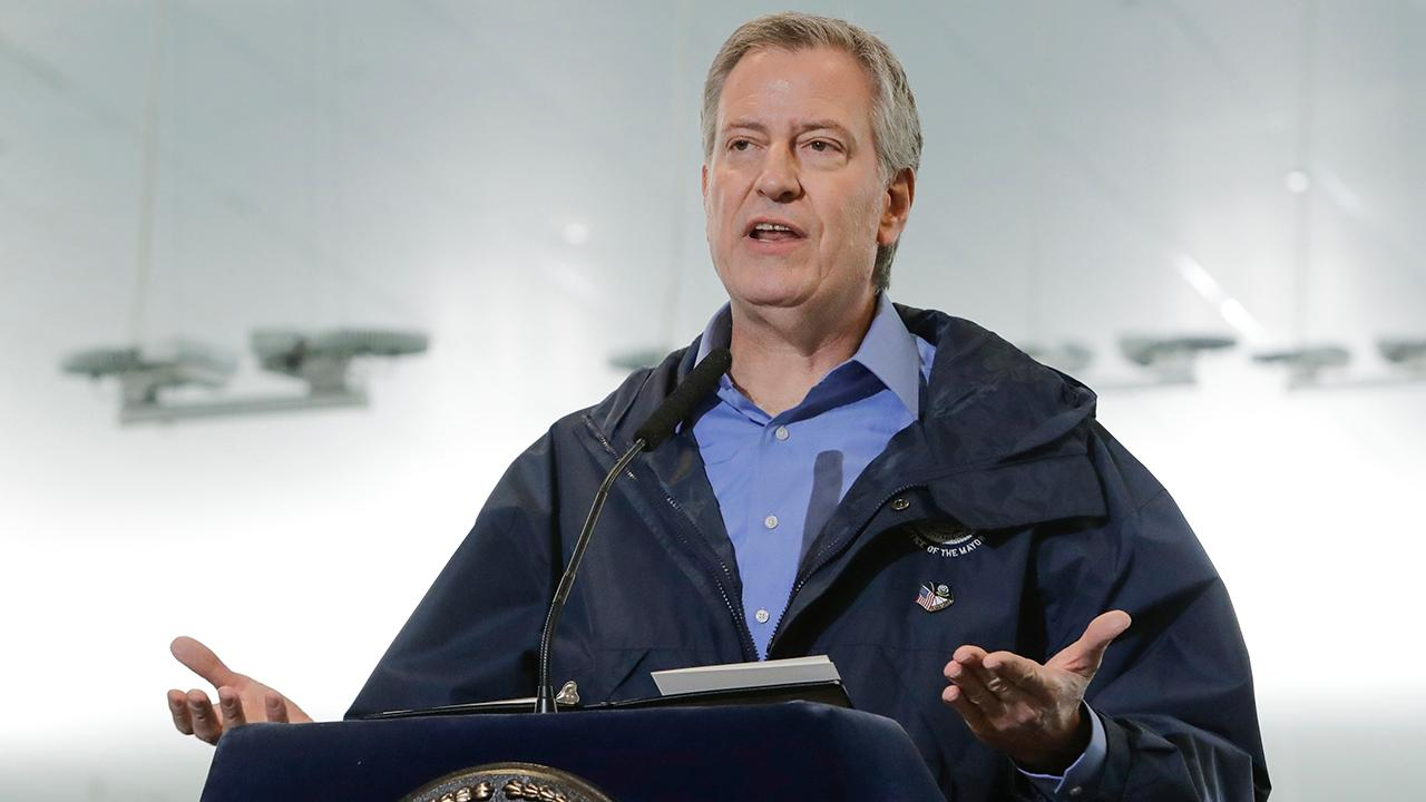 New York City Mayor Bill de Blasio addresses the violent riots taking place in New York and small businesses pushing to reopen.