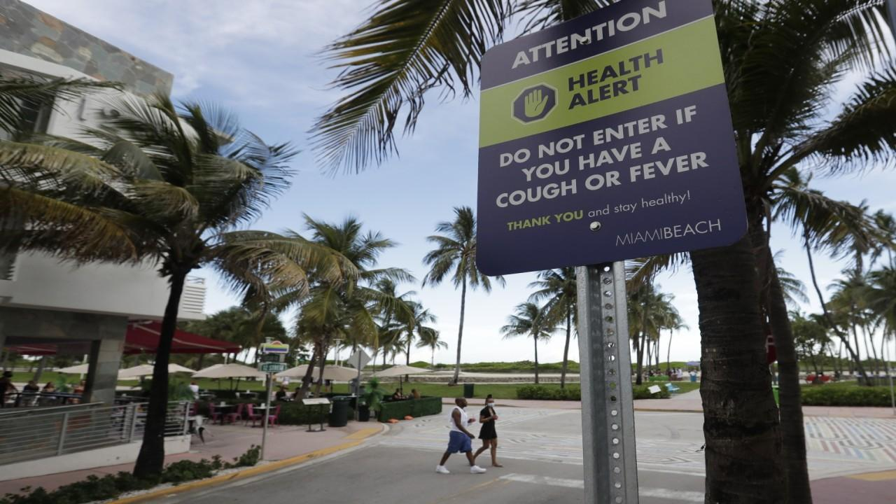 Miami Mayor Francis Suarez discusses closing the beaches for the Fourth of July weekend and how coronavirus cases are spreading.