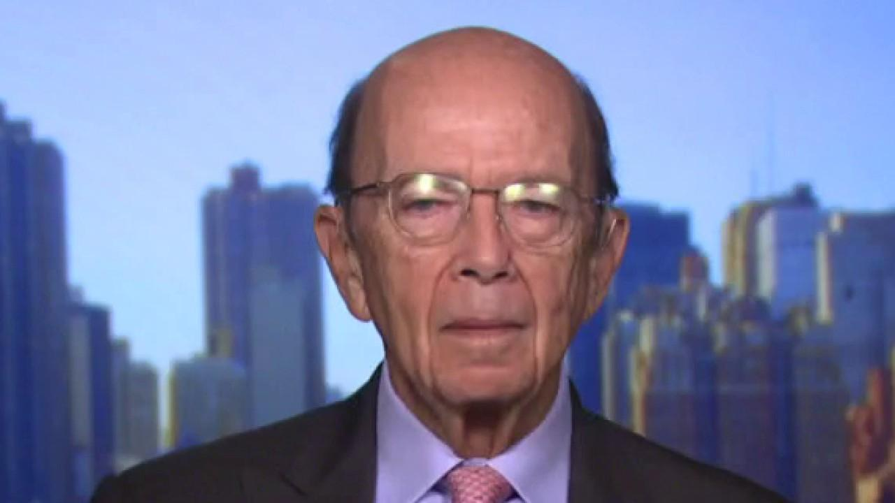 Commerce Secretary Wilbur Ross on the risks associated with 5G and Huawei and funding for infrastructure.