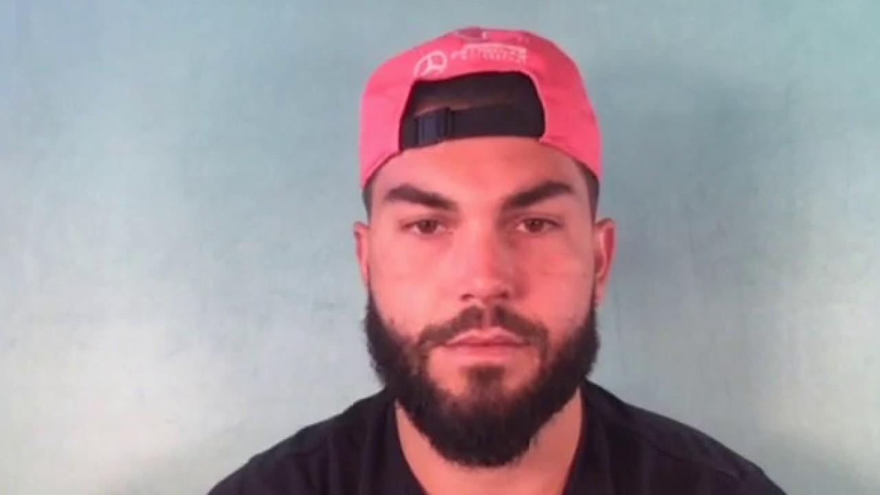 San Diego Padres first baseman Eric Hosmer discusses why Major League Baseball has delayed the start of the season and the repercussions the sport faces.