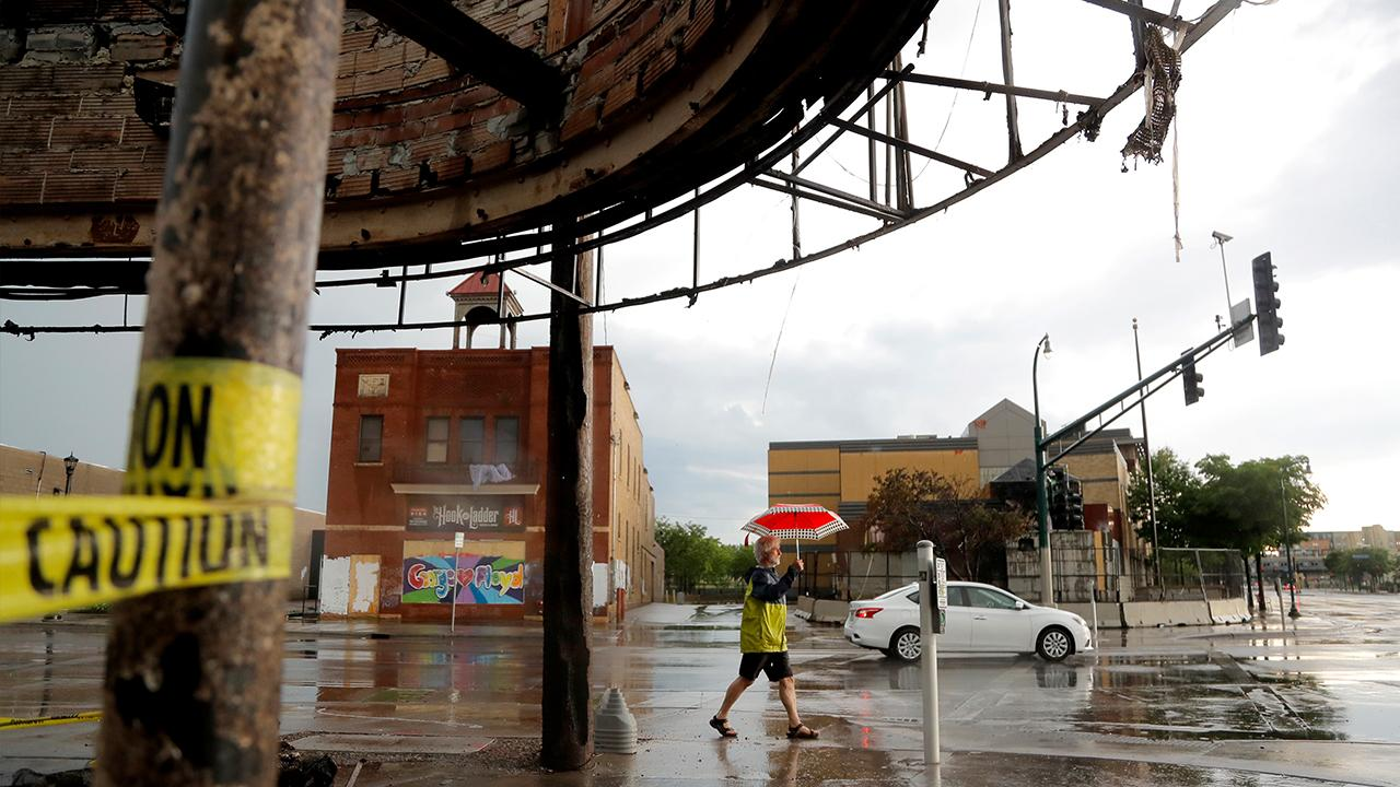 Minneapolis Regional Chamber of Commerce President and CEO Jonathan Weinhagen says owners of businesses hit by rioters feel violated but are also resolved to rebuild.