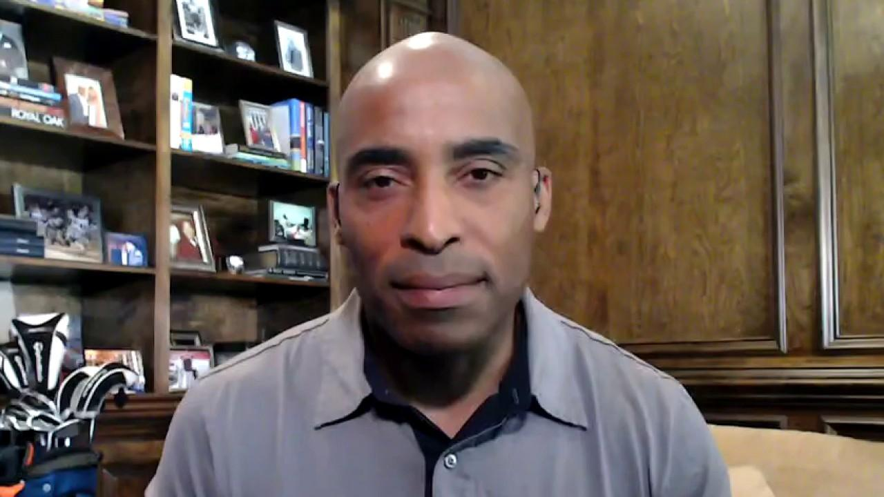 Former NFL player Tiki Barber on the fate of the 2020 MLB and NFL seasons amid coronavirus.