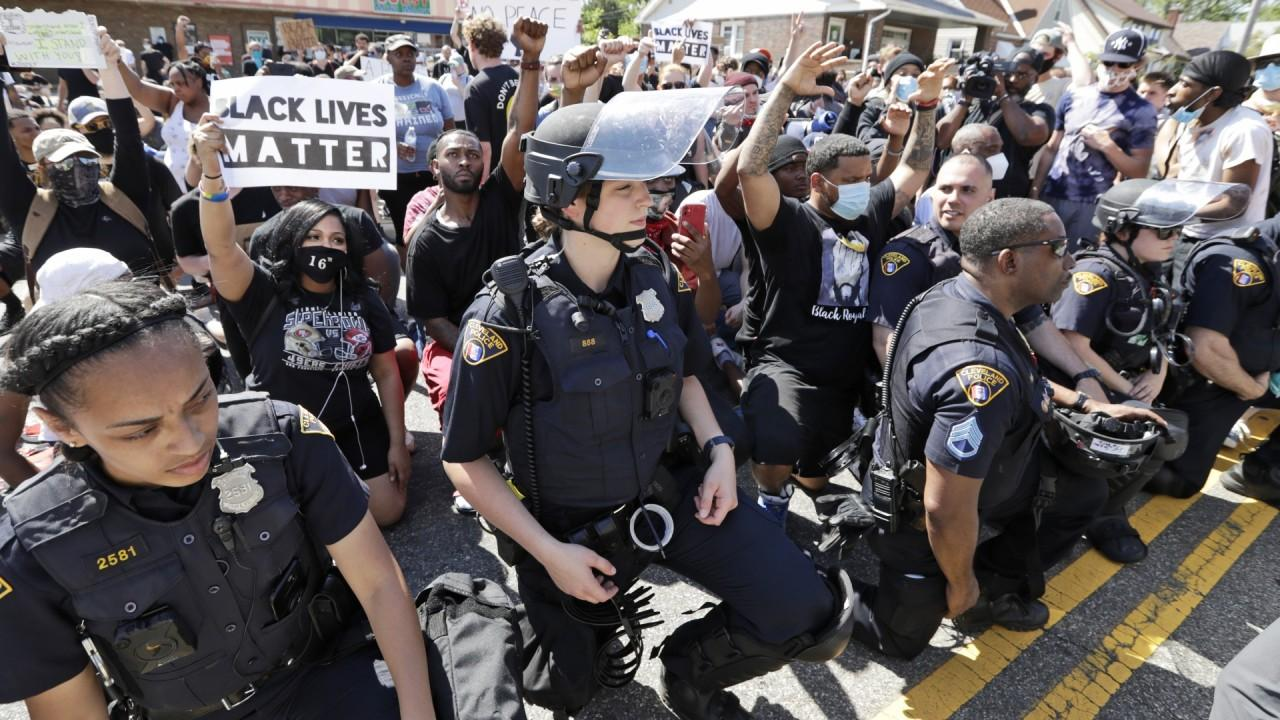 Fox Business' Jackie DeAngelis says Democratic lawmakers will no longer accept campaign donations from law-enforcement officials as protests against police brutality continue across the country.