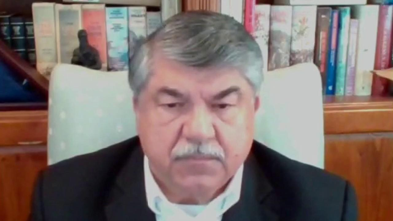 AFL-CIO President Richard Trumka on Facebook's censorship of speech about unionizing, saying Zuckerberg owes an apology and discusses business relations with China.