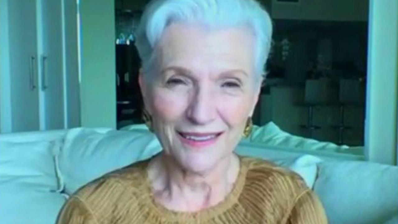 Mother of Elon Musk and 'A Woman Makes a Plan' author Maye Musk on witnessing the SpaceX launch, raising Elon, her new book, finding the positive in tumultuous times and her thoughts on her new grandchild's name.