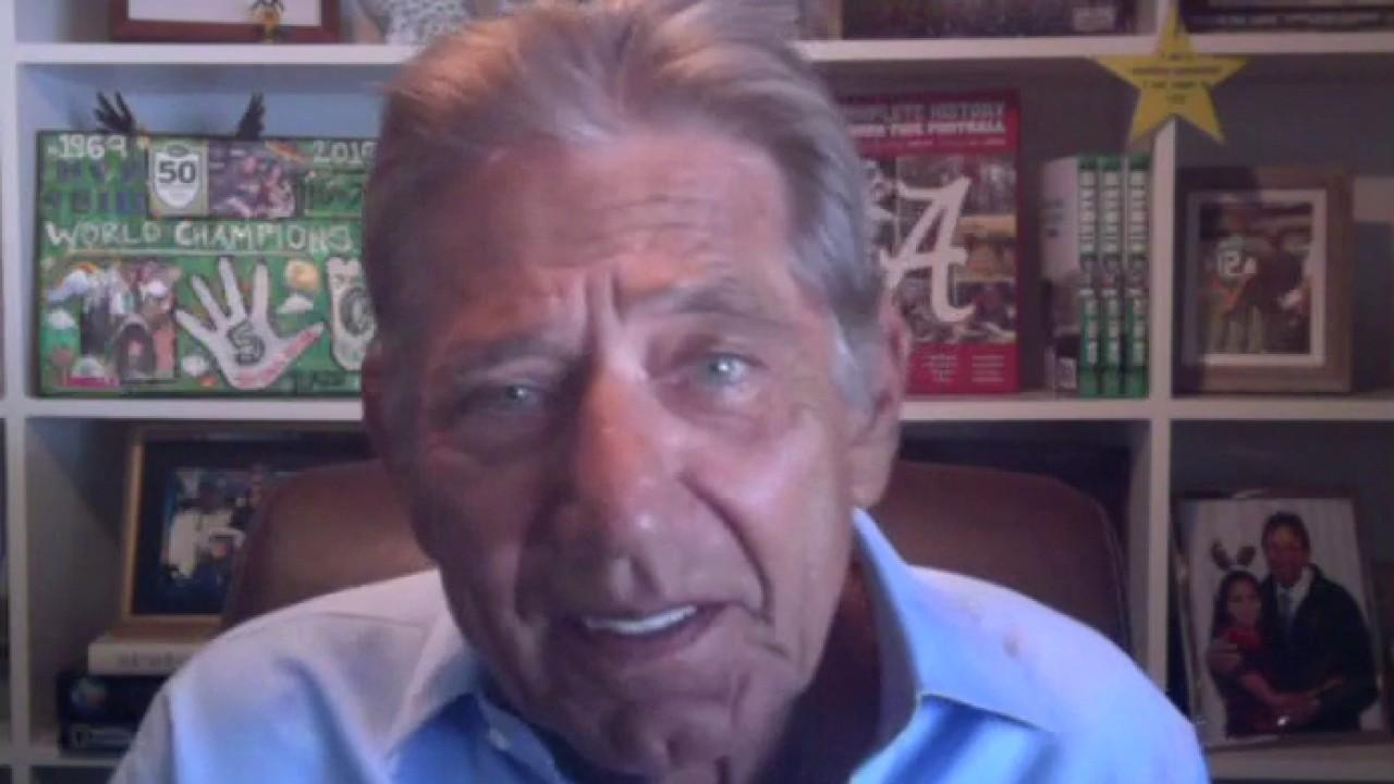 Football legend Joe Namath on the Washington Redskins changing its name and the fate of college football and NFL seasons amid coronavirus.