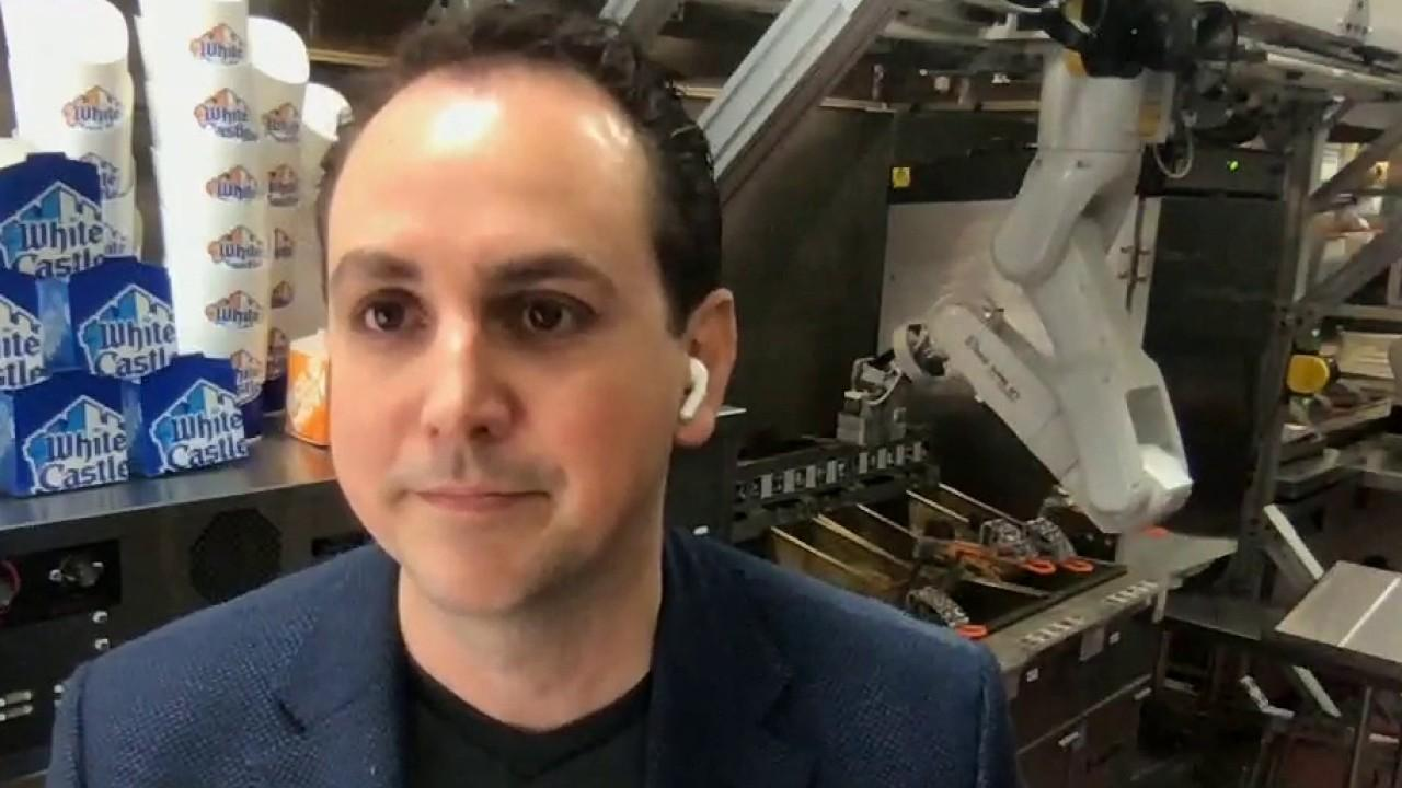 Miso Robotics CEO and co-founder  Buck Jordan discusses new robotics which have the ability service kitchens in restaurants.