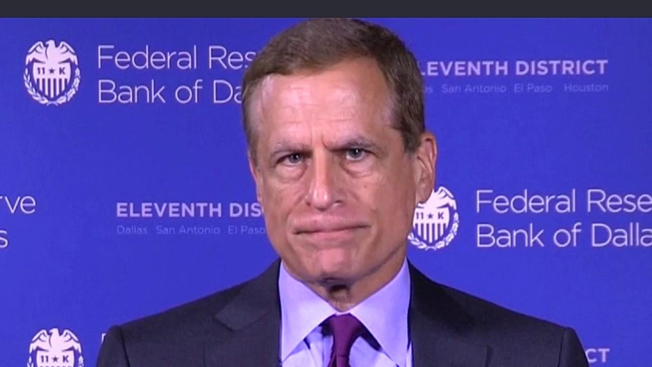 Federal Reserve Bank of Dallas President Robert Kaplan argues flattening the coronavirus curve is important for economic growth and he also expects disinflation for some period of time.